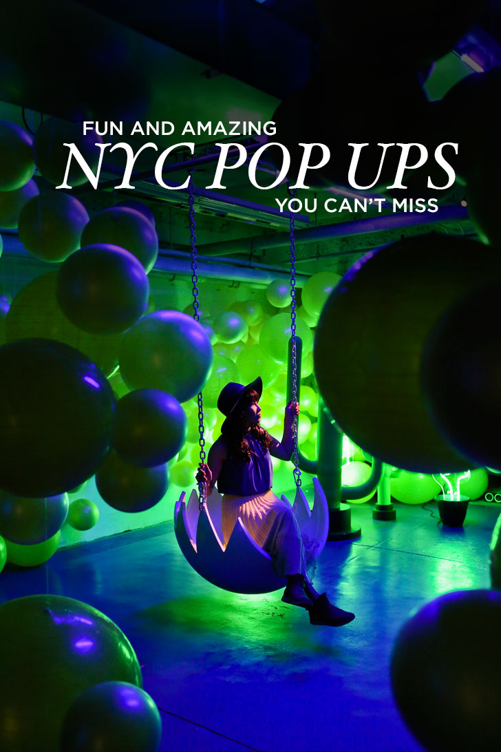 Amazing New York Pop Up Events You Can't Miss // Local Adventurer #newyork #nyc
