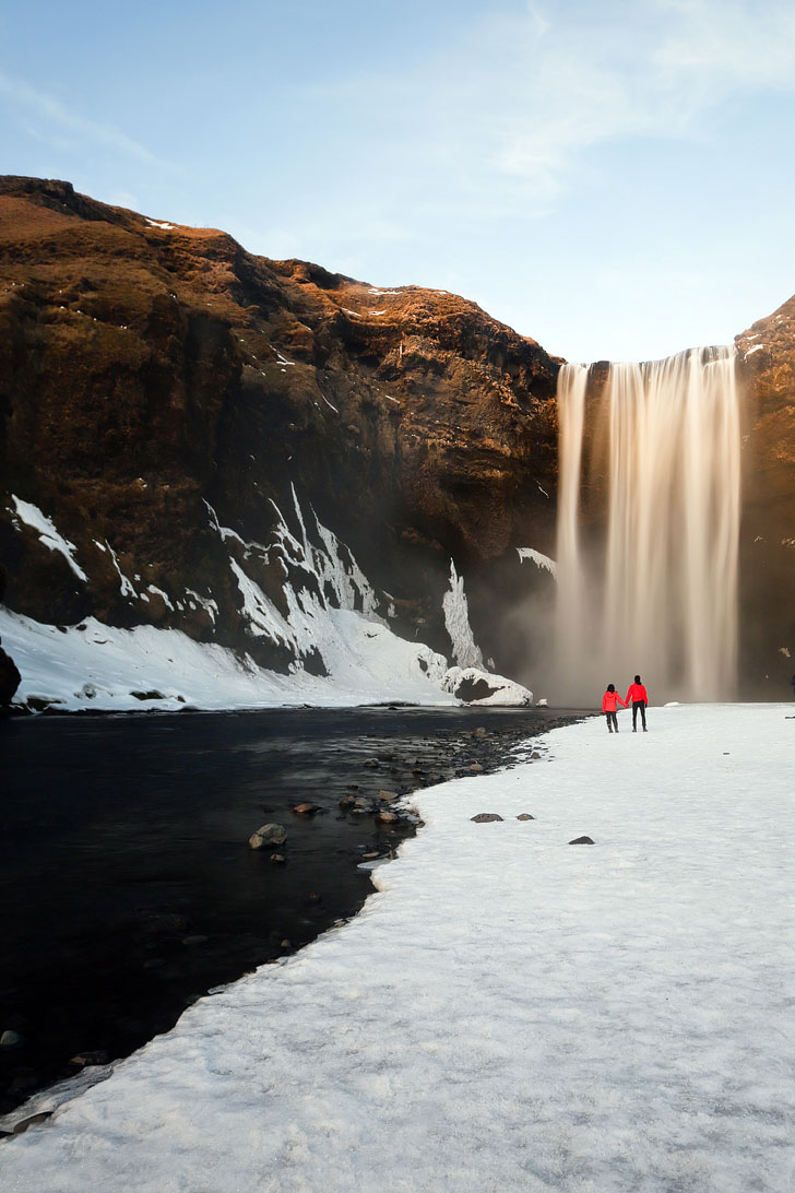 Skogafoss Waterfall - Iceland Road Trip Travel Tips - Planning a trip to Iceland? Take a look at this article to find out which 5 day trips from Reykjavik Iceland you can't miss. There are so many beautiful places that you need to experience // Local Adventurer #iceland #roadtrip #europe
