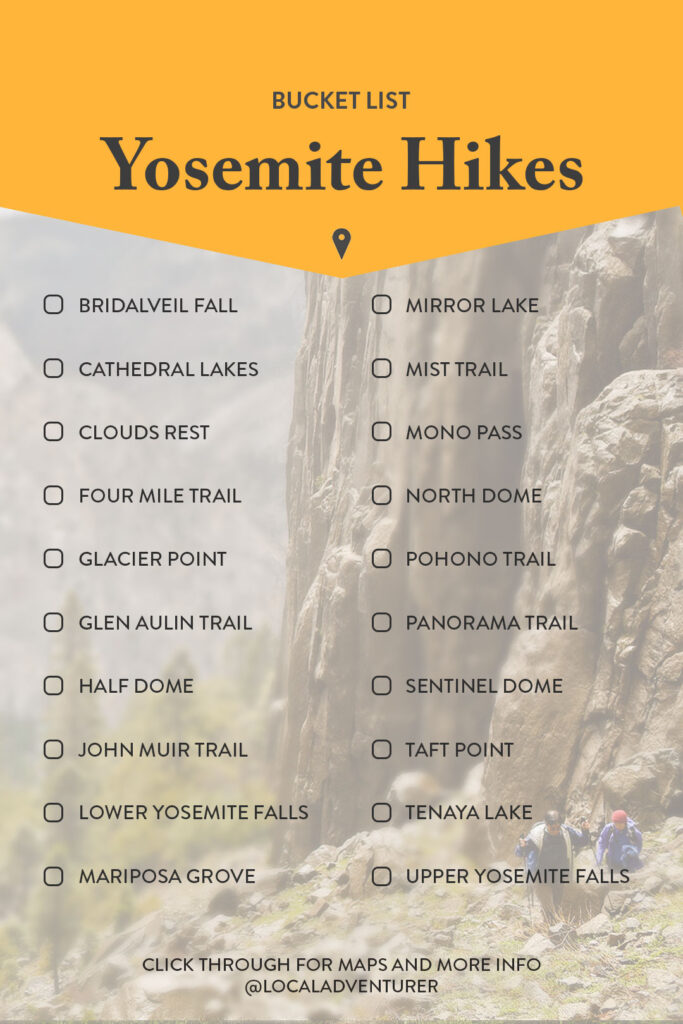 Best Yosemite Day Hikes and Tips for Your Visit