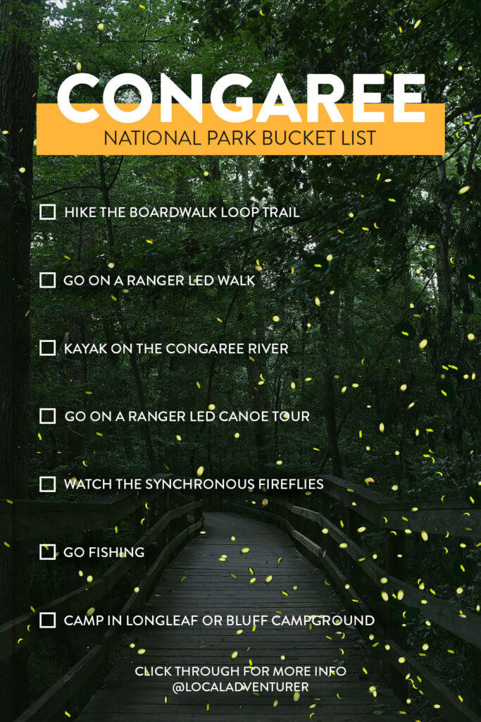 Congaree National Park Bucket List