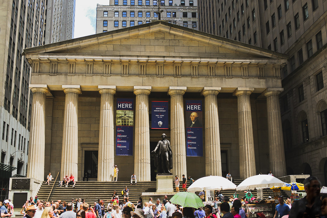 Federal Hall National Memorial, Financial District + Visiting the big apple and want to see the national parks in new york city? Save this pin and click through to learn about all 11. We include tips to help you plan your visit to some of the best east coast national parks, like the Statue of Liberty National Monument. We also have resources like NYs parks map, a list of state parks in upstate ny, and national parks in upstate new york. // Local Adventurer #seeyourcity #nycgo #nyc #iloveny #newyork #newyorkcity #visittheusa