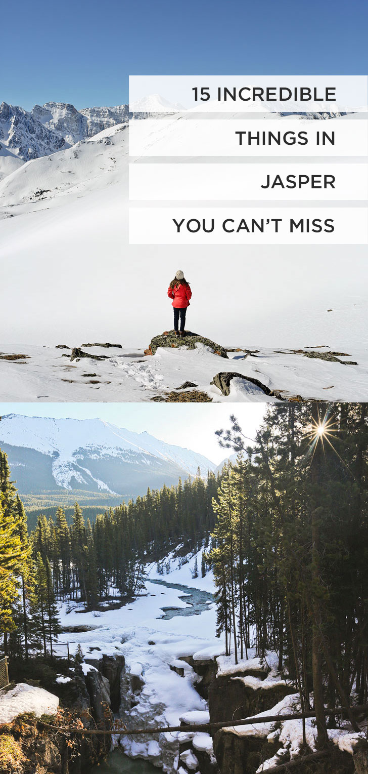 15 Unforgettable Things to Do in Jasper National Park | If you're headed to the Canadian Rockies, you need to visit Jasper National Park. It is one of the most beautiful places for anyone who loves nature, photography, or adventure. Click on this article to find out what you need to add to your bucket list // Local Adventurer #jasper #alberta #canada