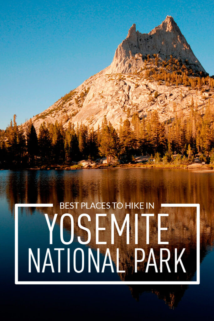 Traveling to Yosemite National Park? Take a look at these 11 best places to hike in Yosemite National Park. These Yosemite hiking trails are also some of the best hiking trails in California and the US that you'll want to add to your hiking bucket lists. They take you to some of the most beautiful places and best views in Yosemite. // Local Adventurer #localadventurer #yosemite #california #nationalpark #visitcalifornia #visitca #findyourpark