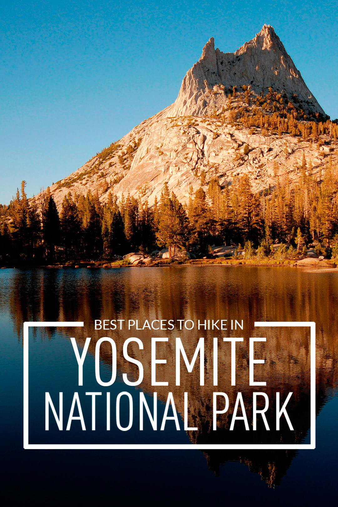 Traveling to Yosemite National Park? Take a look at these 11 best places to hike in Yosemite National Park. These Yosemite hiking trails are also some of the best hiking trails in California and the US that you'll want to add to your hiking bucket lists. They take you to some of the most beautiful places and best views in Yosemite. (photo: Cody Badger) // Local Adventurer #localadventurer #yosemite #california #nationalpark #visitcalifornia #visitca #findyourpark