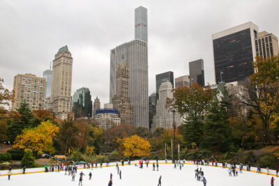 Ice Skating NYC Central Park