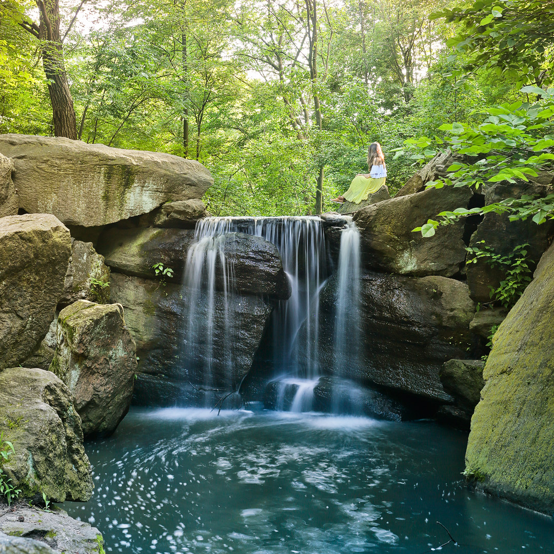 Central Park Waterfalls and More Secrets of Central Park