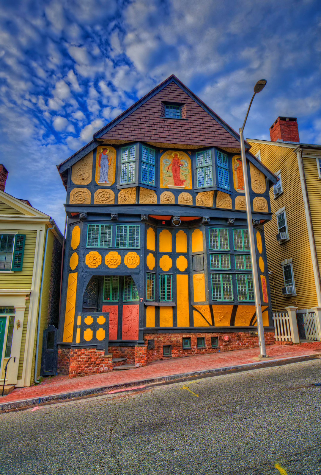 Fleur-de-Lys Studios in Providence Rhode Island by Craig Fildes + Best Vacation Getaways from NYC