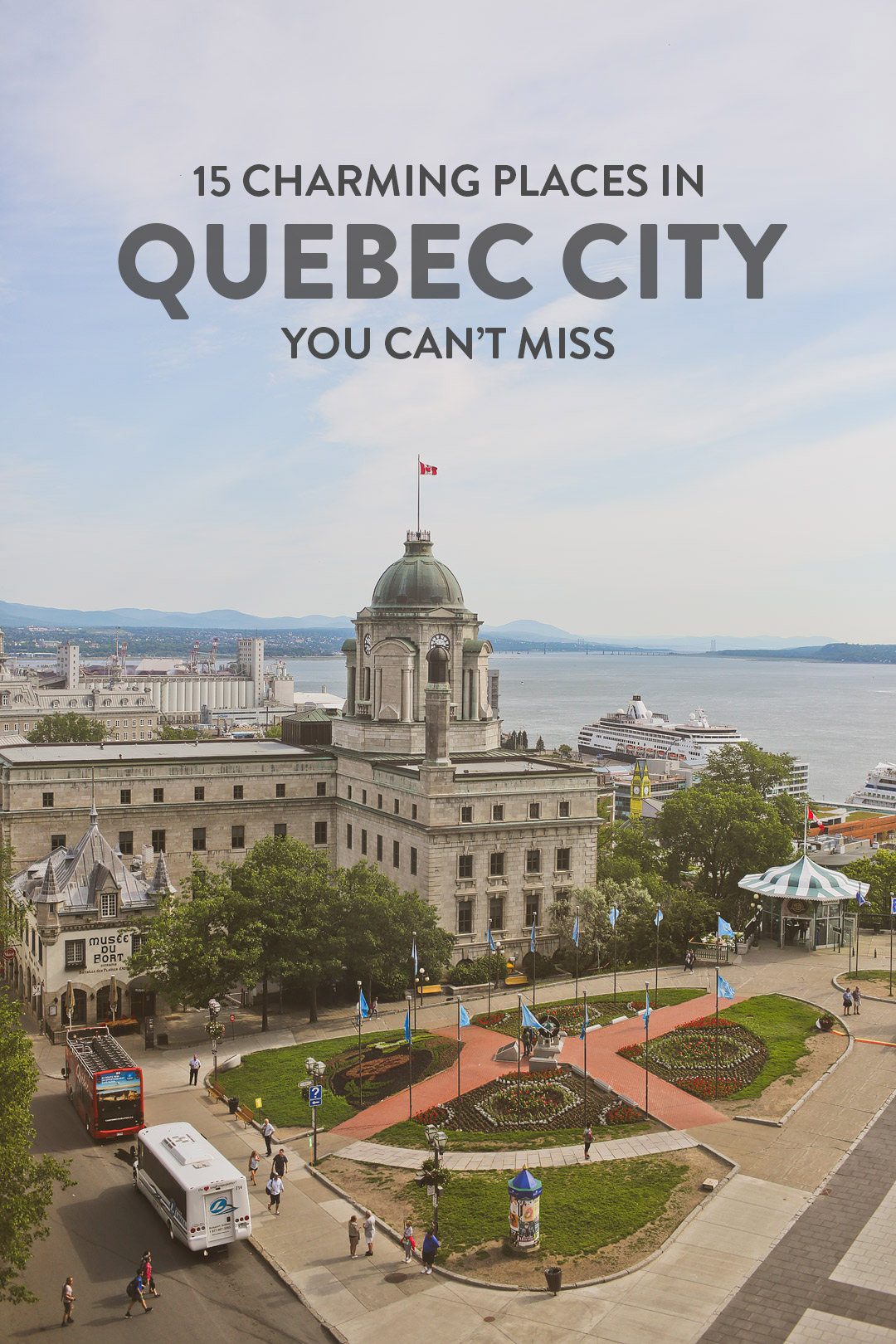 Want to plan the perfect trip to Quebec city? Read this on article on the best things to do in quebec city. Don't miss out on these quebec city activities, the day trips from quebec city, the plains of abraham in quebec city, where to stay in quebec city, and more. It also includes where you should visit in quebec city with kids, a quebec city map, and travel tips. // Local Adventurer #quebeccity #quebec #canada #travel