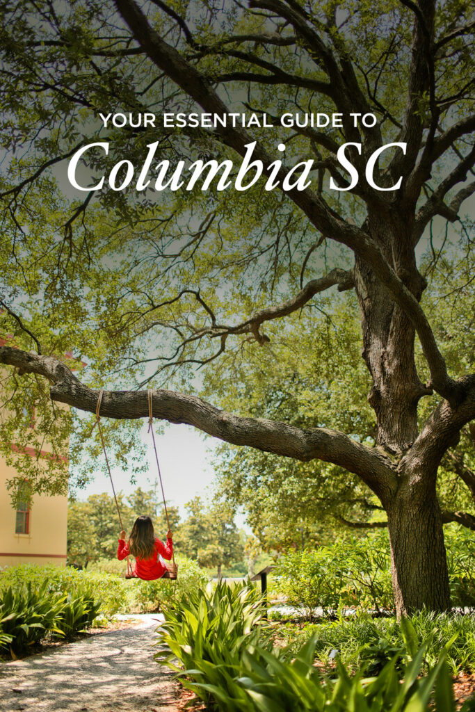 Visiting Columbia SC? Click the article to find out the 15 fun things to do in columbia sc you can't miss. Pictured is the Hampton Preston Mansion columbia sc. Also includes top columbia tourist attractions, fun kid activities in columbia sc, and more fun adult activities in columbia sc // Local Adventurer #RealColumbiaSC #columbiasc #discoverSC #southcarolina #visittheusa #usa