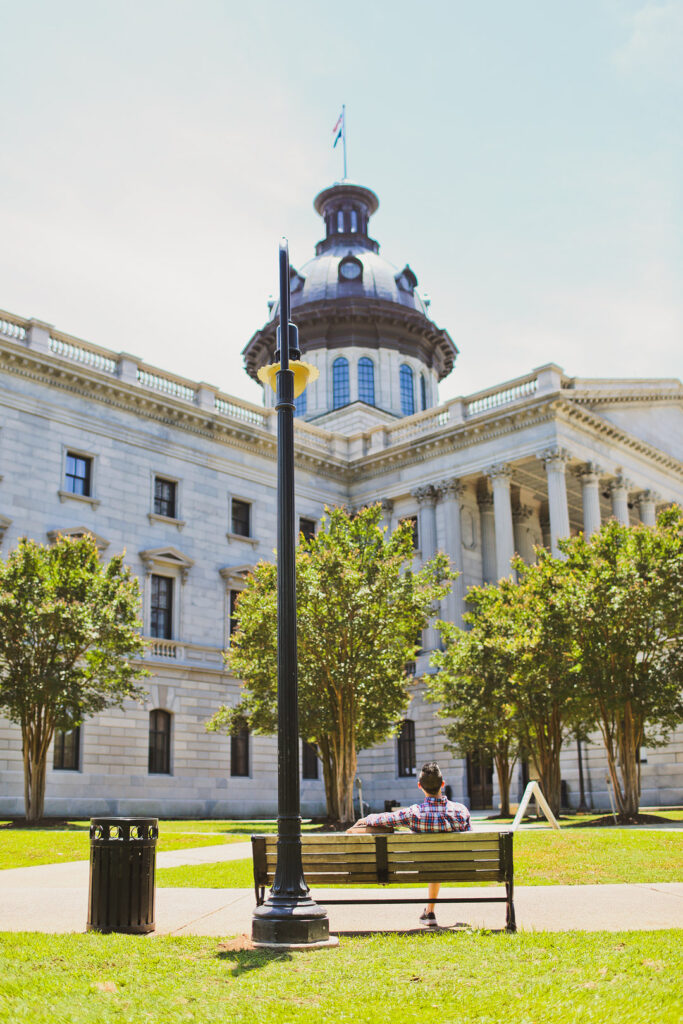 Want to plan the best trip to Columbia SC? Read this article on what to do in columbia sc. It includes the hampton preston house columbia sc, the columbia riverwalk, the south carolina state house, the woodrow wilson family home, the saluda river, and more. // Local Adventurer #RealColumbiaSC #columbiasc #discoverSC #southcarolina #visittheusa #usa