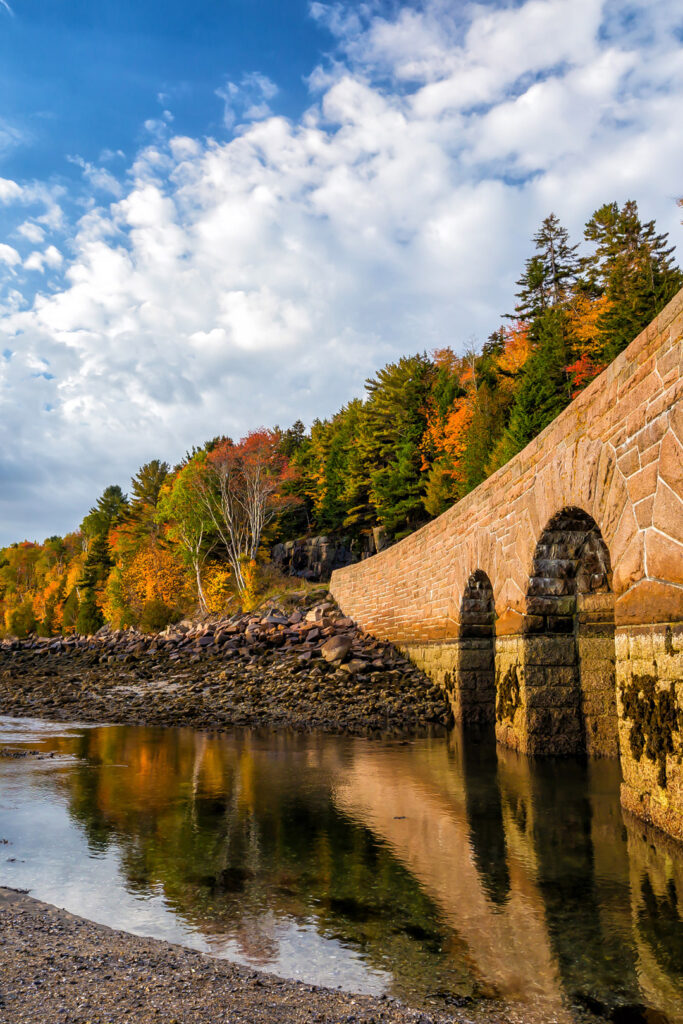 Acadia Maine Fall Foliage + 17 Incredible Places for the Best Fall Foliage in the USA // Local Adventurer #usa #fall #foliage #autumn #leaves #trees #acadia #maine #colors #nationalpark