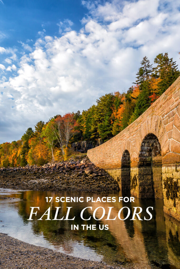 17 Best October Vacation Destinations in the US // Local Adventurer #fall #foliage #usa #autumn #colors #leaves #travel #travelcolorfully