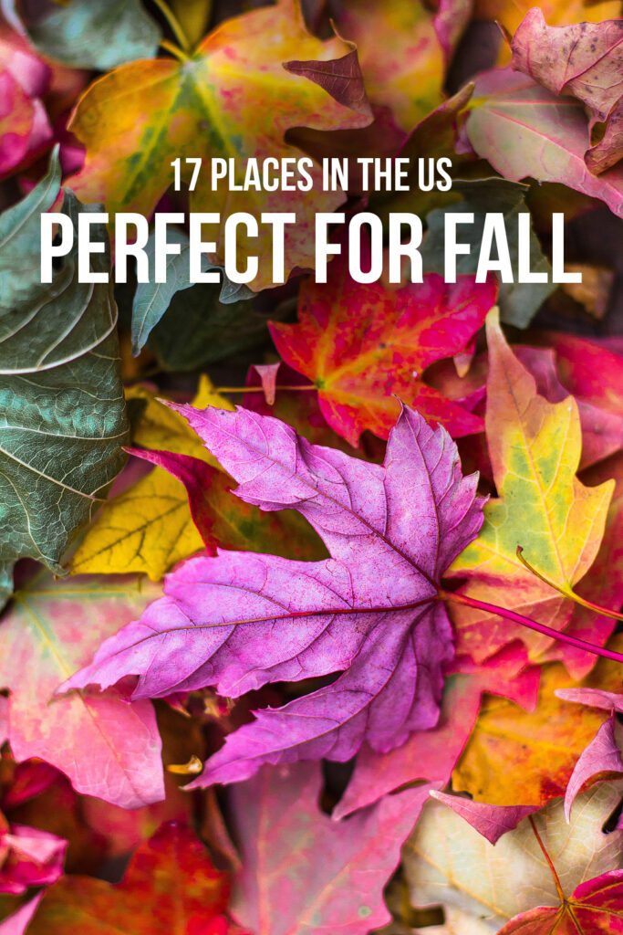 17 Best October and September Vacations in the US // Local Adventurer #fall #foliage #autumn #leaves #usa #travel #september #color #colorful
