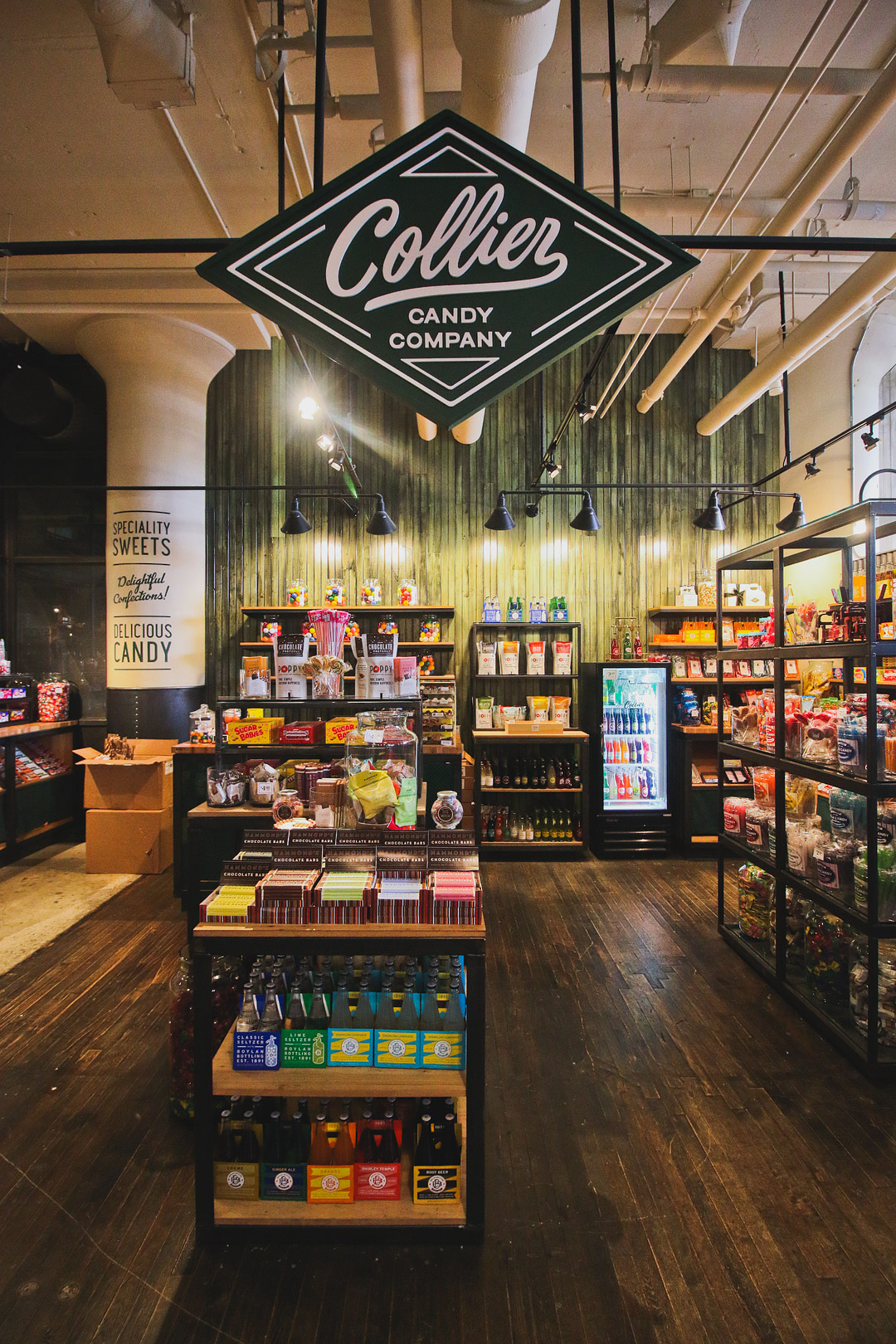 Collier Candy Company + Your Essential Guide to the Best Ponce City Market Stores, Restaurants, and Bars // Local Adventurer #candy #atlanta #pcm #ponce #atl #georgia #ga #usa #travel #shopping