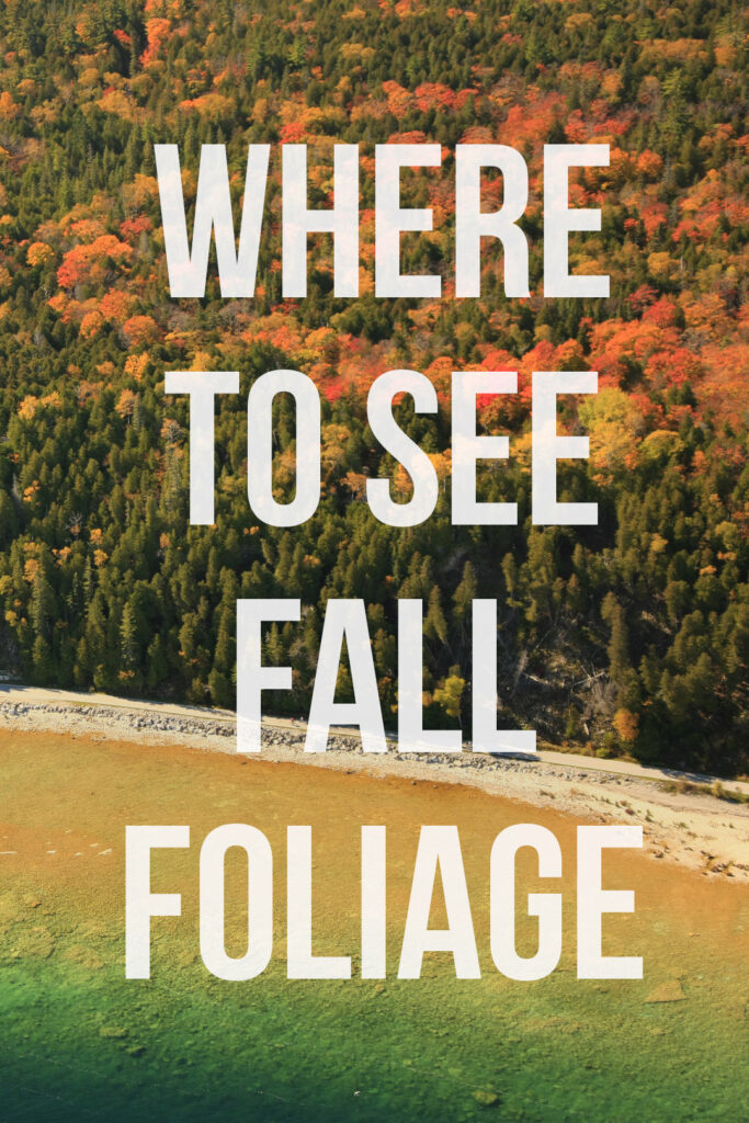 17 Incredible Places to Witness the Fall Season in USA // Local Adventurer #usa #travel #fall #season #autumn #foliage #colors #leaves #trees #travel