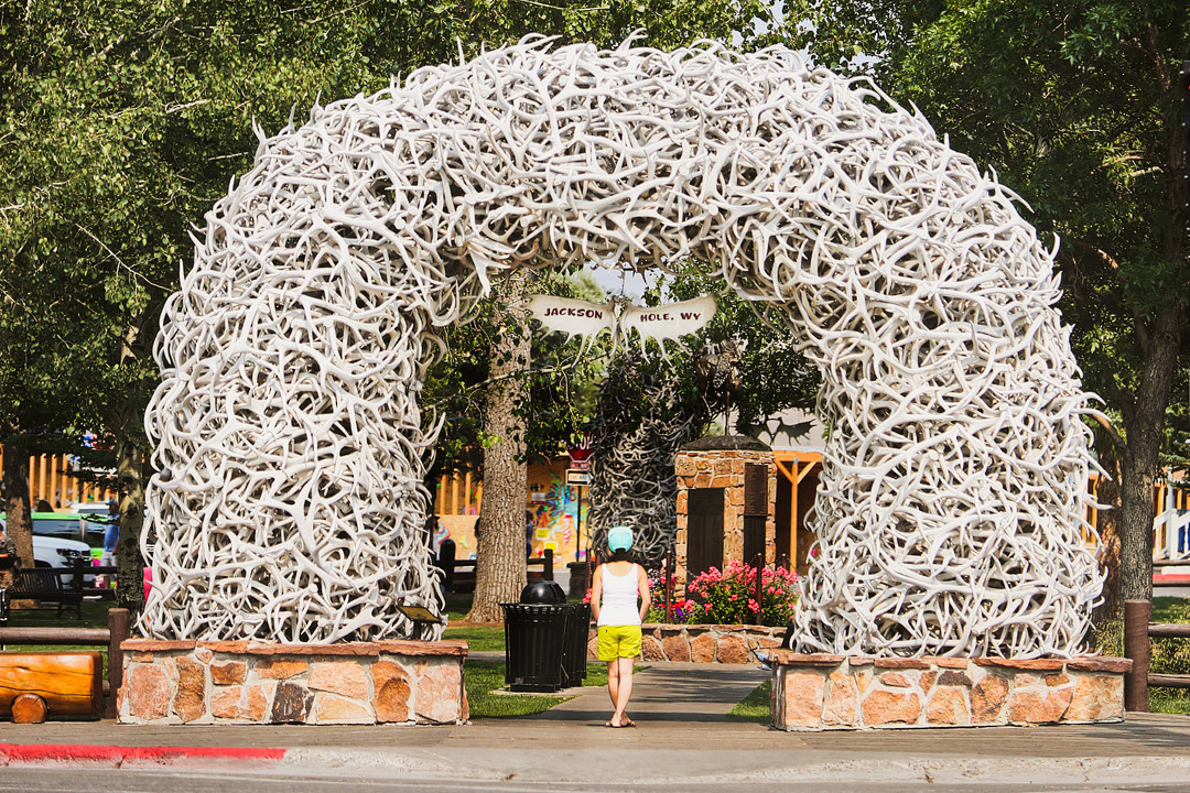 Jackson Wyoming Downtown + 11 Fun Things to Do in Jackson Hole // Local Adventurer