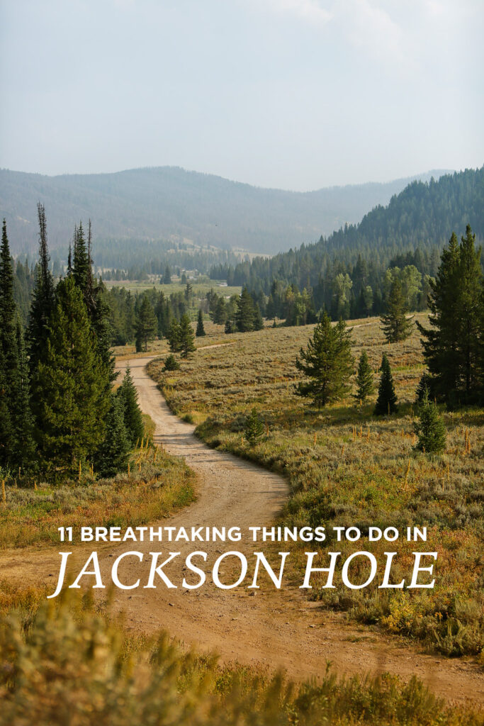 11 Incredible Things to Do in Jackson Hole Wyoming // Local Adventurer #thatswy #wyoming #wy #usa #travel #outdoors #hiking #adventure #grandteton #jacksonhole #nationalpark
