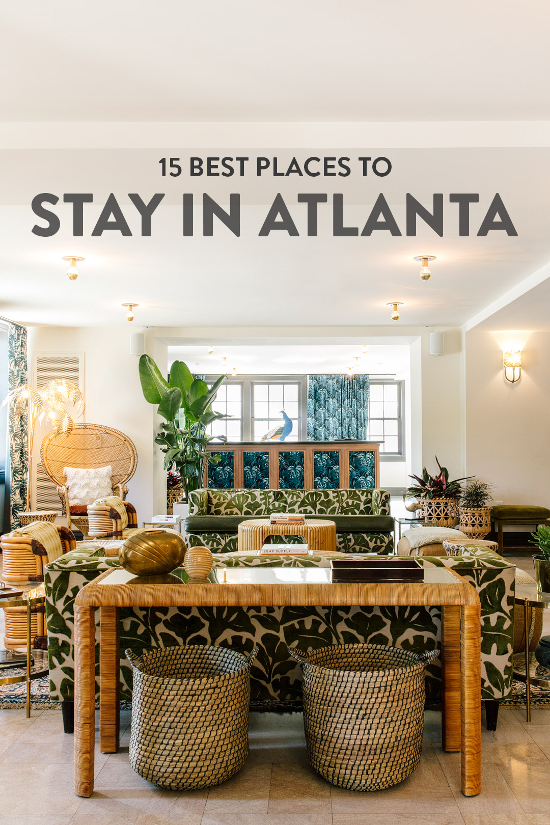 Best Places To Stay In Atlanta Local Adventurer Travel Blog