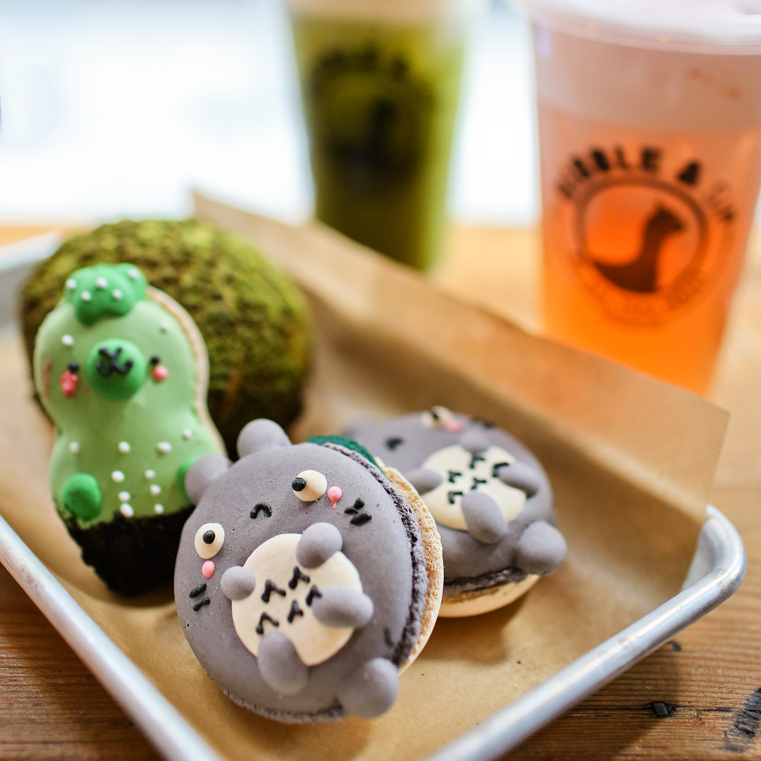 Bibble and Sip + 17 Amazing and Unique Desserts in NYC // Local Adventurer #nyc #newyork #newyorkcity #usa #food #foodie #travel #wanderlust #desserts #totoro #macaron