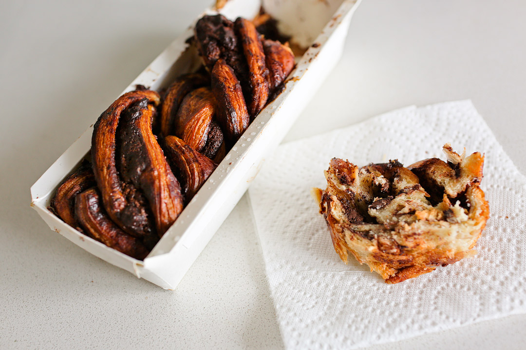 Breads Bakery Chocolage Babka + 17 Best Desserts in NYC + the Ones You Should Skip // Local Adventurer #nyc #newyork #newyorkcity #usa #food #foodie #travel #wanderlust #desserts