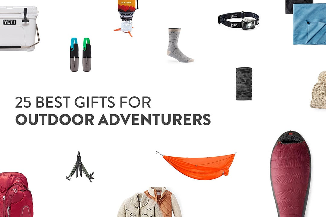 25 Gifts Your Outdoorsy Friends Will Actually Love – Your Essential Outdoor Gift Guide for 2020