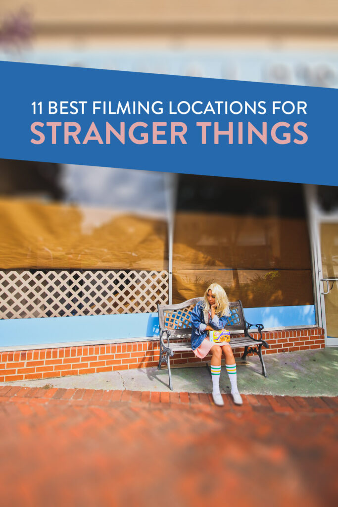 11 Best Stranger Things Filming Locations You Should Visit Now // Local Adventurer #atlanta #georgia #usa #travel #tvshows #filmlocation #strangerthings