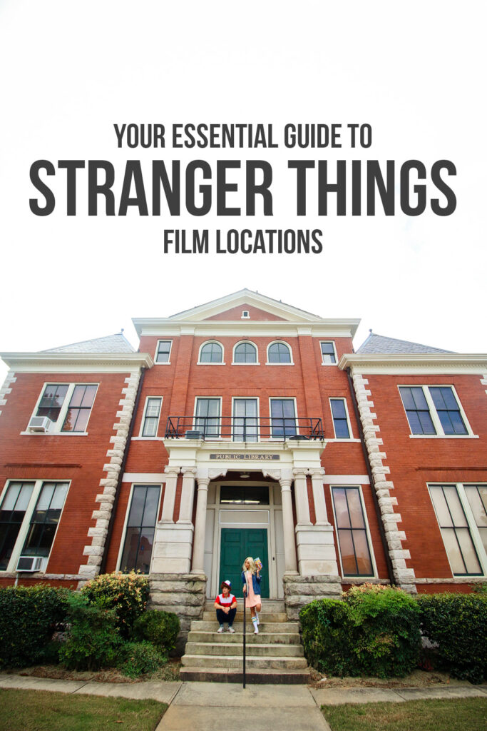 Your Essential Guide to Stranger Things Film Locations You Shouldn't Miss // Local Adventurer #atlanta #georgia #usa #travel #tvshows #filmlocation #strangerthings