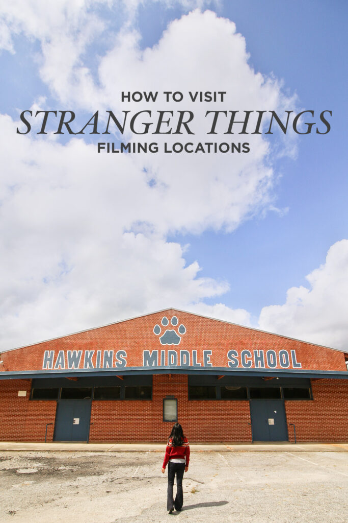 Where is Stranger Things Filmed? Check out the 11 Best Stranger Things Filming Locations You Should Visit Now // Local Adventurer #atlanta #georgia #usa #travel #tvshows #filmlocation #strangerthings