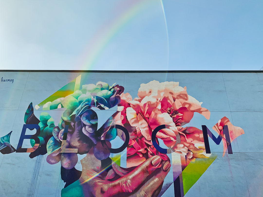 Bloom Mural LA + 27 Most Instagrammable Places in Los Angeles