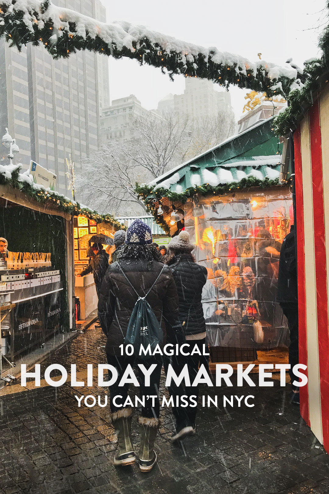 10 Christmas Markets in NYC You Should Visit This Winter + Holiday Market New York City // Local Adventurer #nyc #newyork #christmas