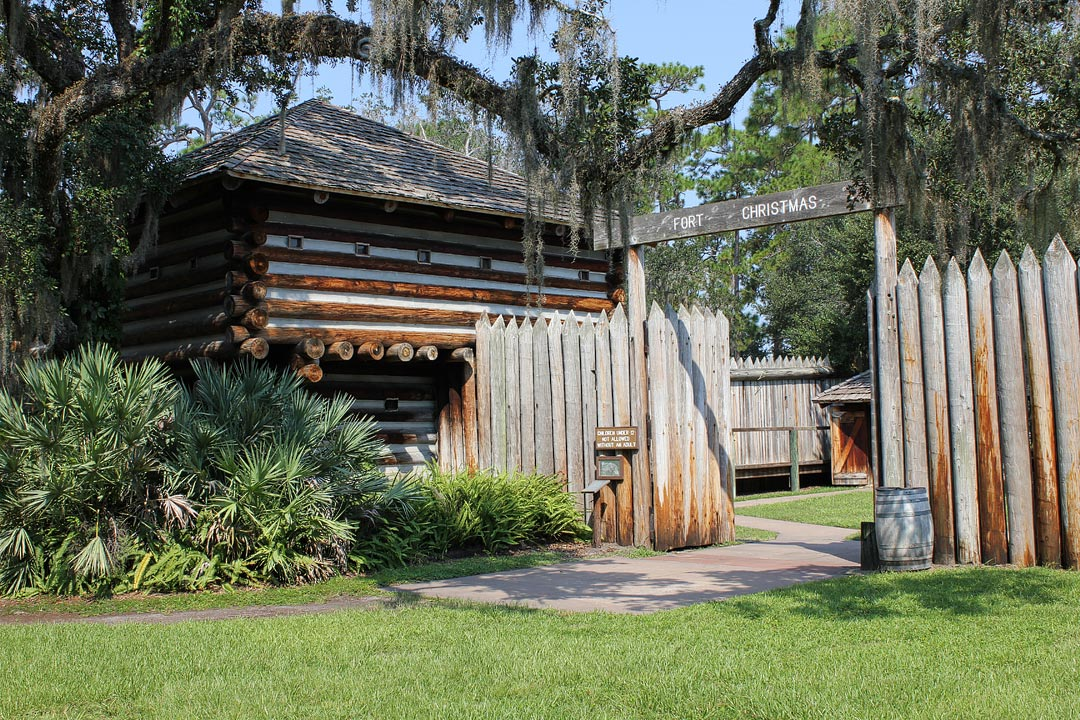 Fort Christmas Historical Park + 25 Things to Do in Orlando for Free