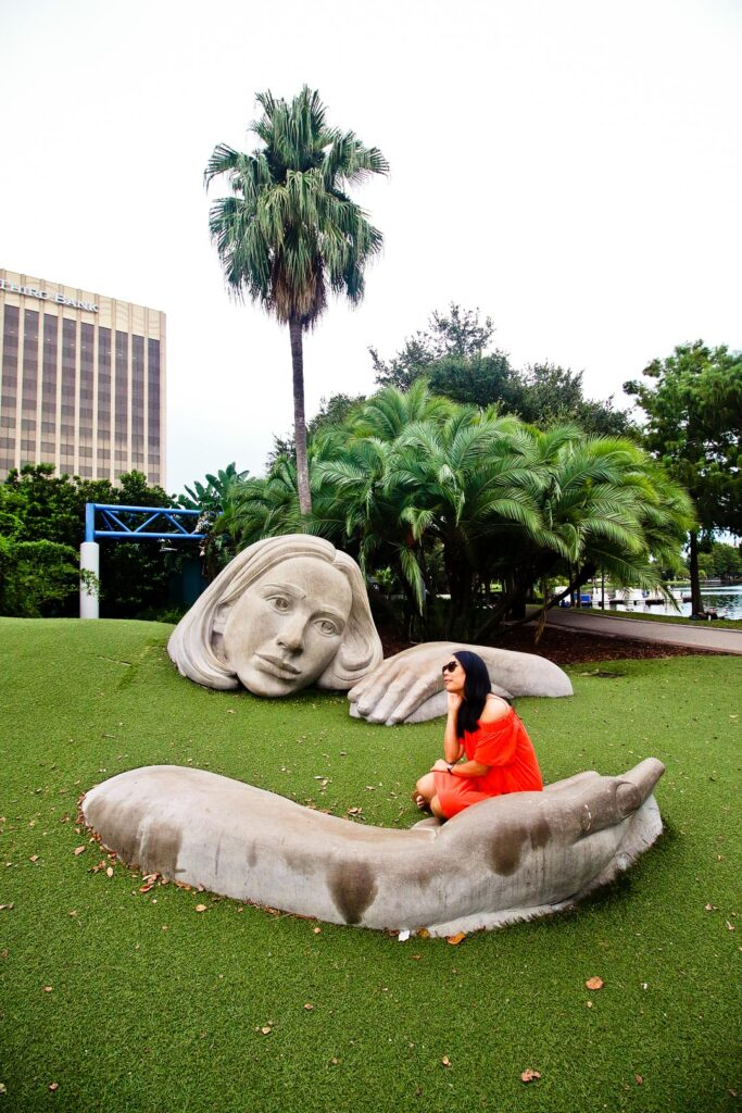 Lake Eola Orlando + 25 Free Things to Do in Orlando Florida