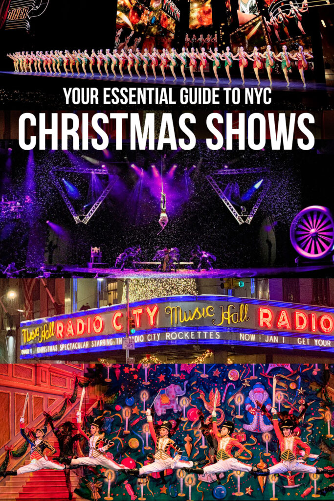 New York Christmas Shows