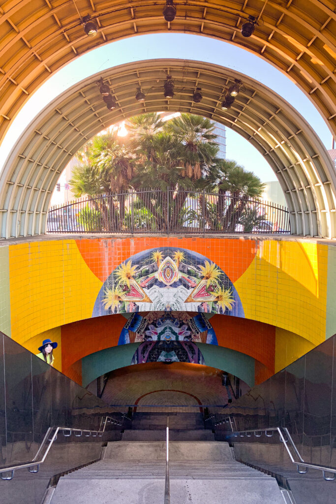 North Hollywood Station + 27 LA Instagram Spots You Can't Miss