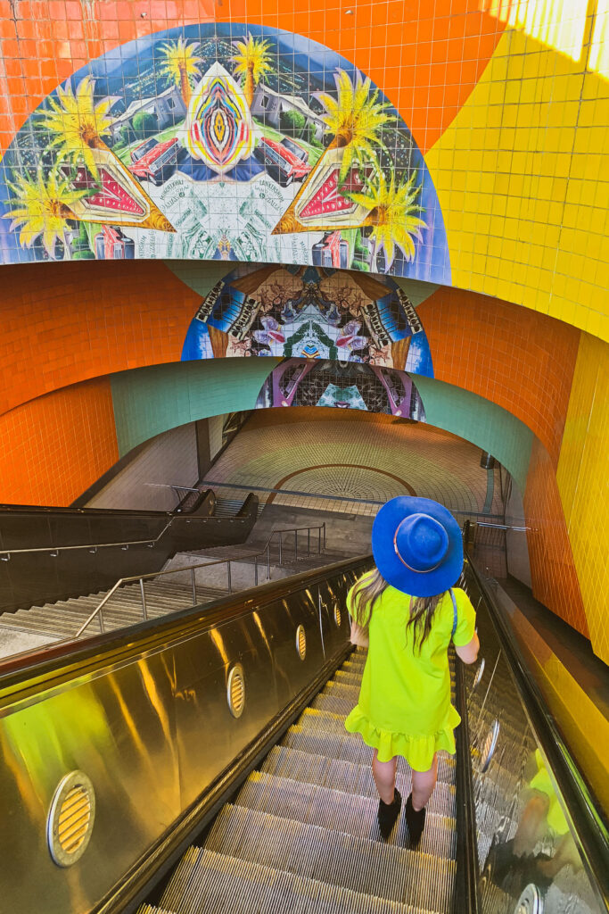 North Hollywood Train Station + 27 LA Instagram Spots You Can't Miss // Local Adventurer #instagram #losangeles