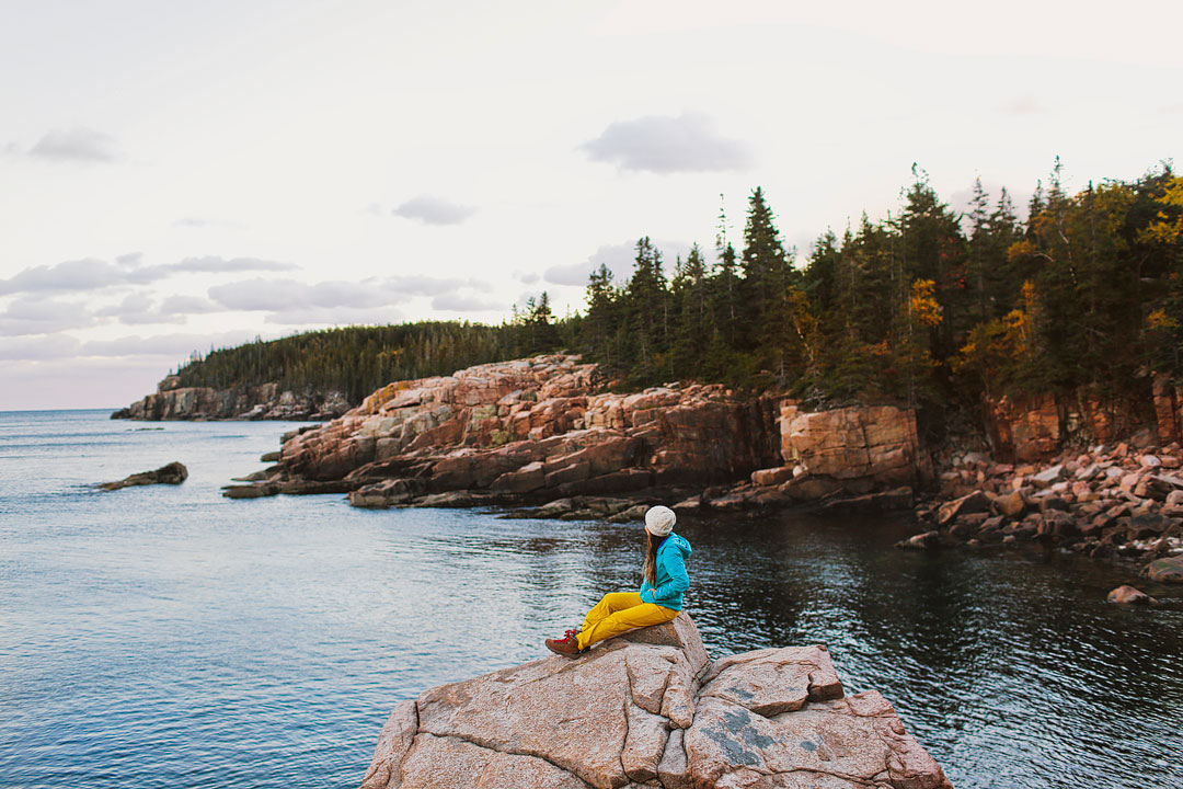 Otter Cliffs in Acadia National Park