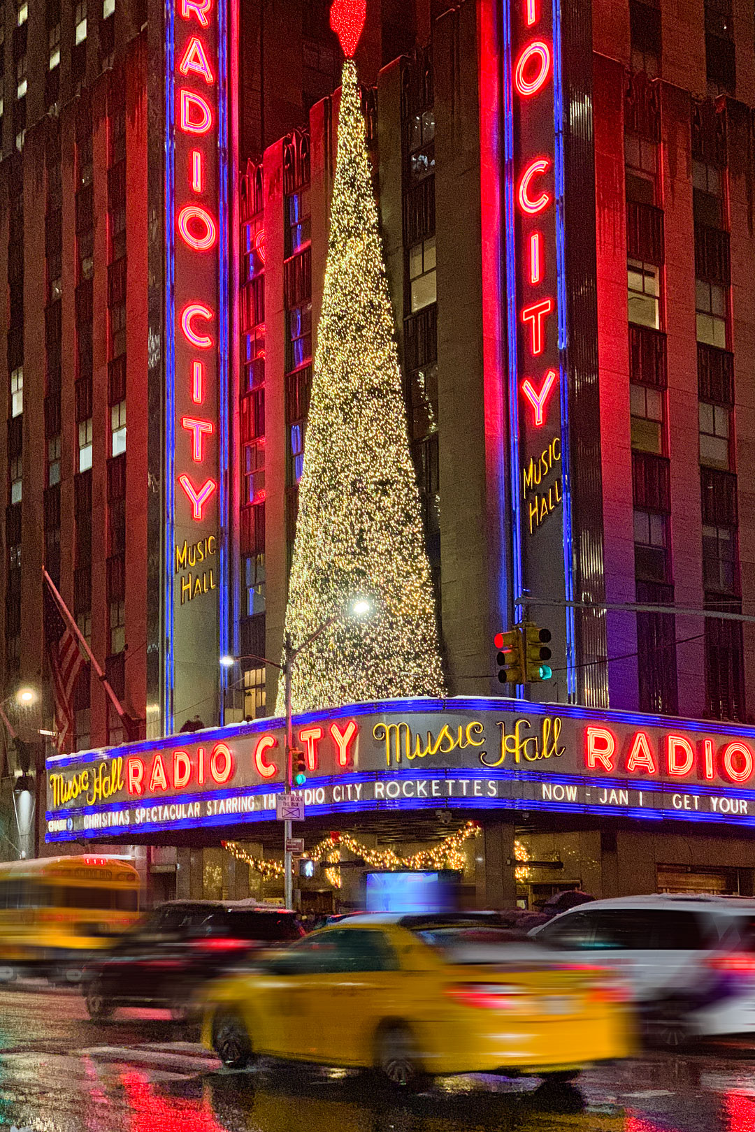 Radio City Music Hall Christmas Tree