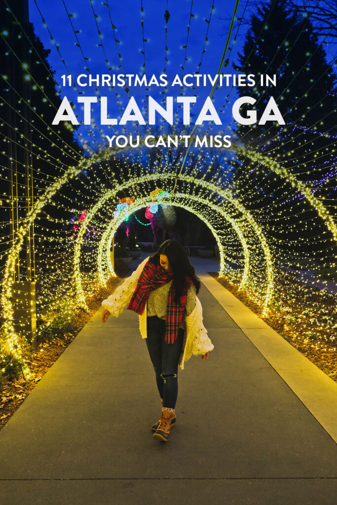 Best Places to See Christmas Lights in Atlanta