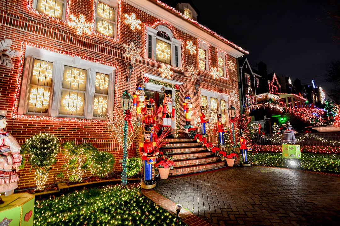Christmas Lights Dyker Heights
