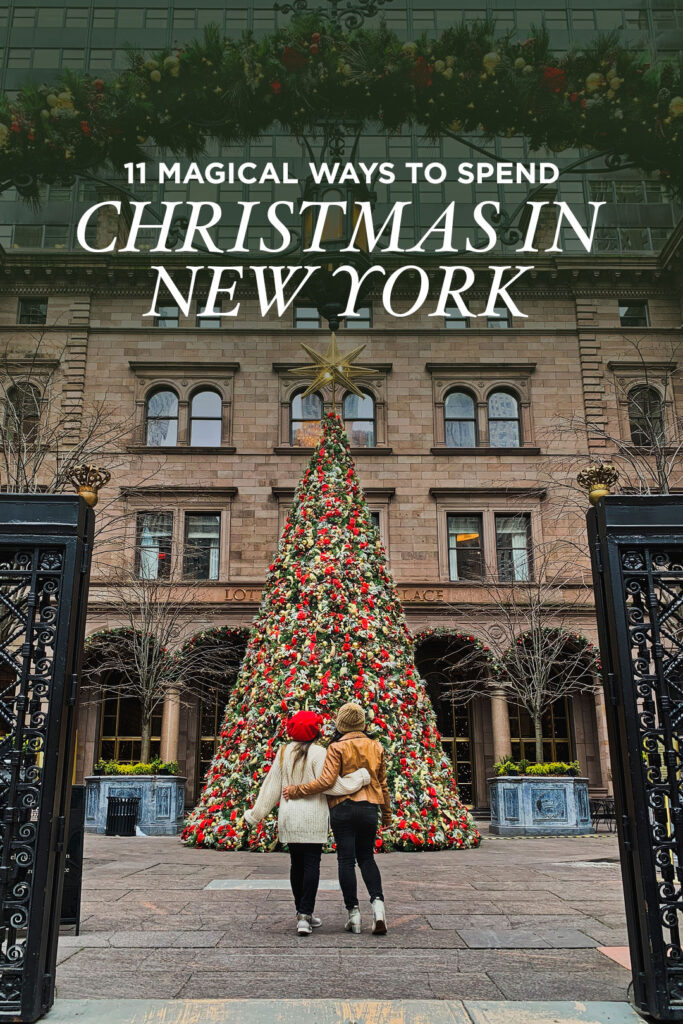 What to Do in New York at Christmas - Lotte New York Christmas Tree