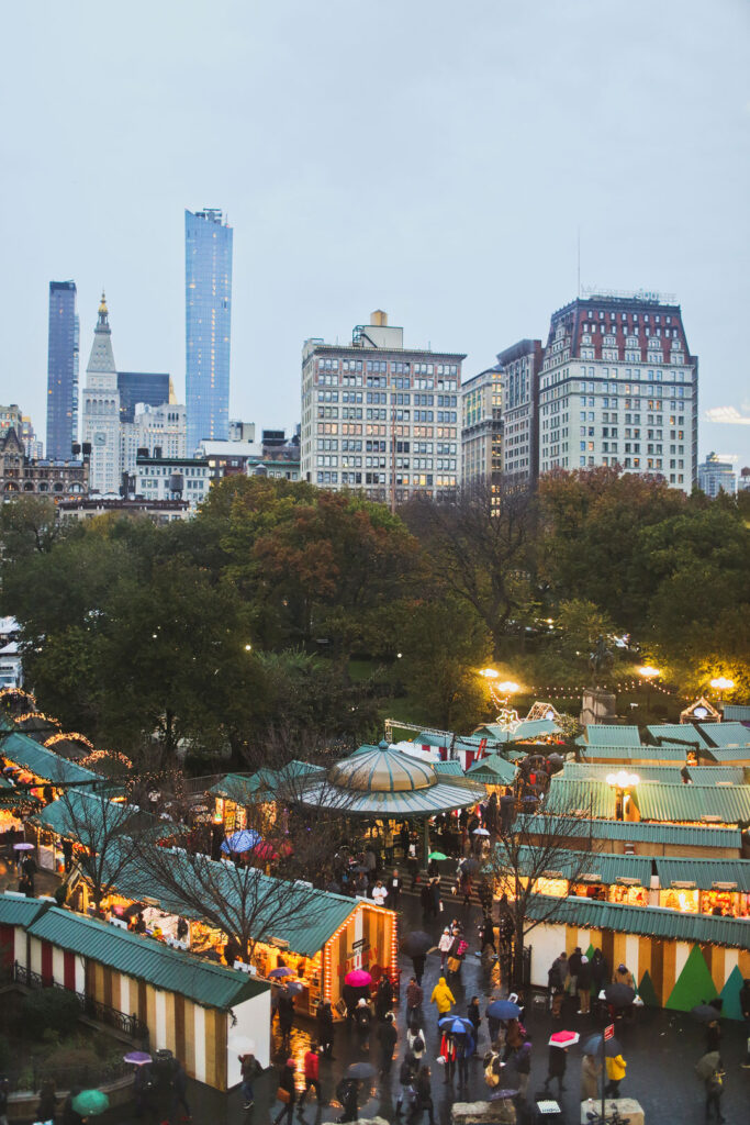 NYC Christmas Markets - Union Square