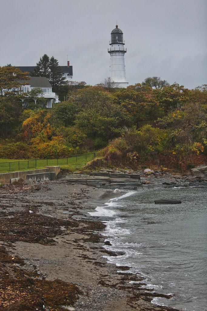 Cape Elizabeth Maine Lighthouse // Local Adventurer