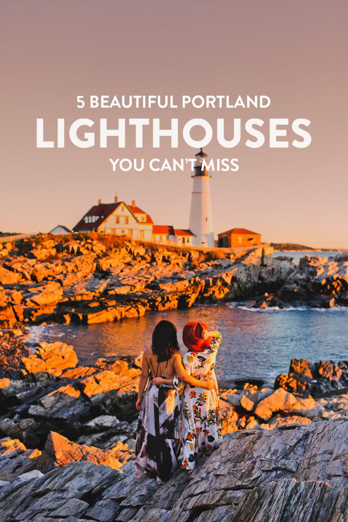 5 Beautiful Lighthouses in Portland ME // Local Adventurer