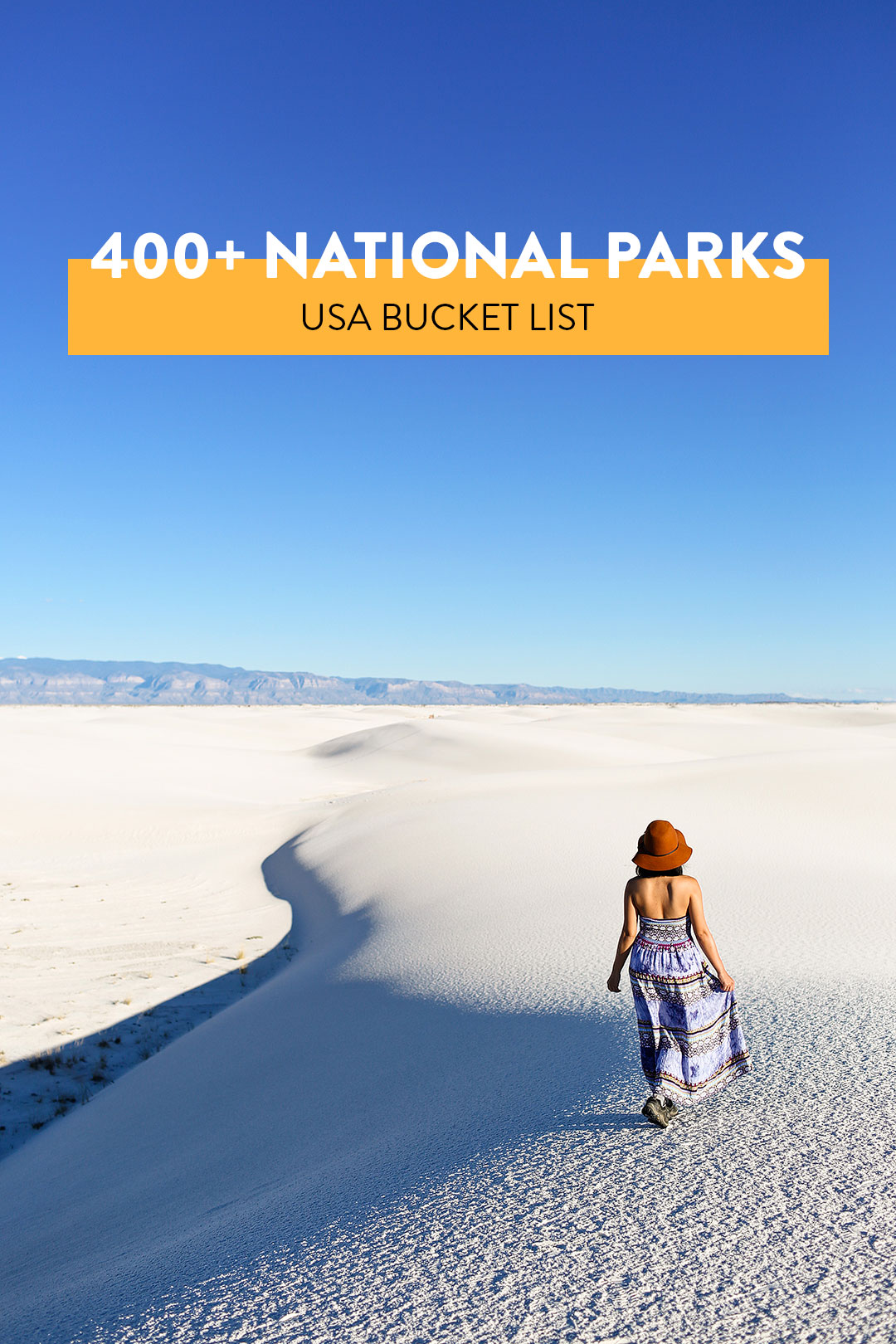 400+ National Parks in the US to add to Your Outdoors Bucket List