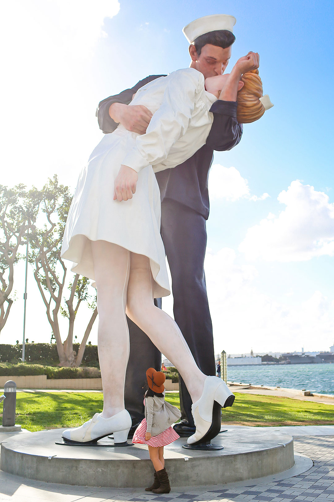 Unconditional Surrender Statue San Diego + Top Free Things to Do in San Diego