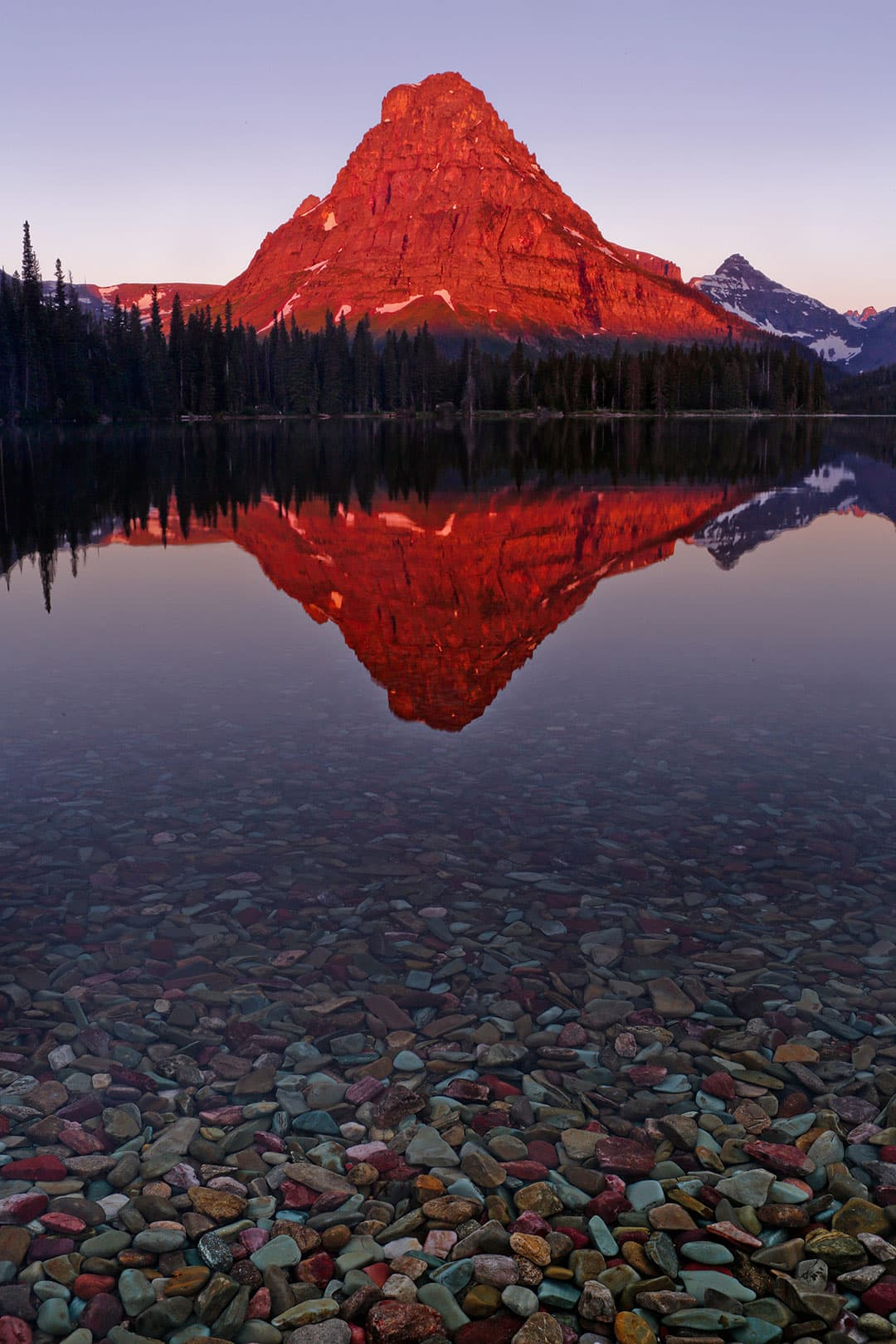 Watch the Sunrise at Two Medicine Lake + 9 Best Things to Do in Glacier National Park Montana