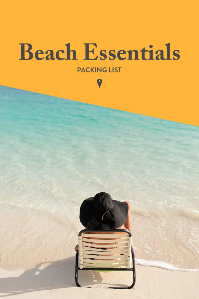 Beach Essentials Packing List