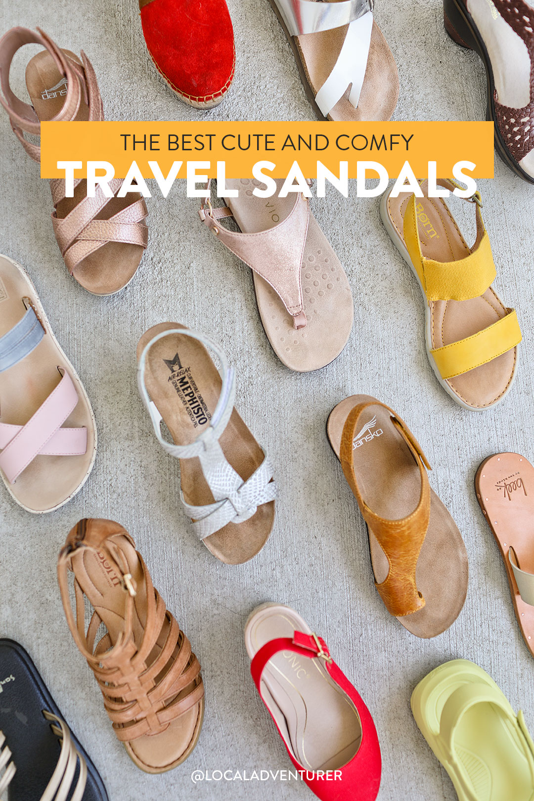 The Best Sandals for Travel Tested on the Road
