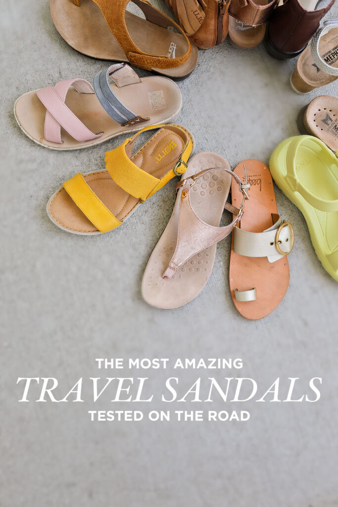 Top Travel Sandals Reviewed - Here's What We Found