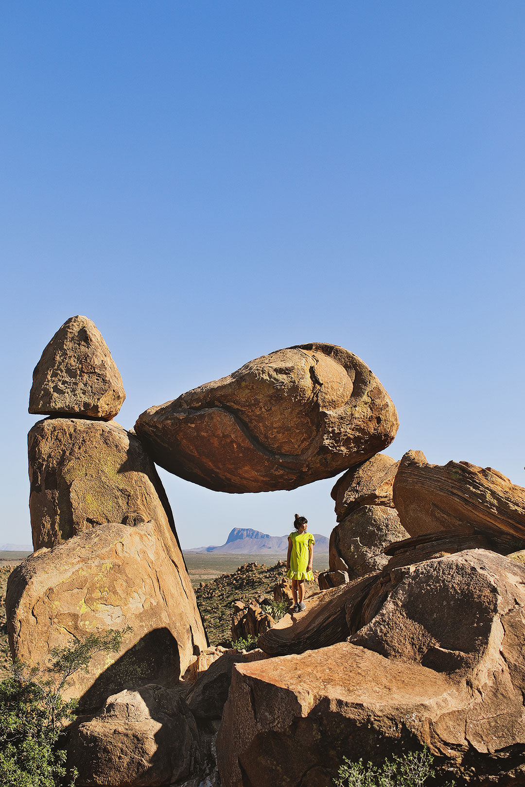 Balanced Rock Big Bend National Park